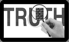 Truth = lies